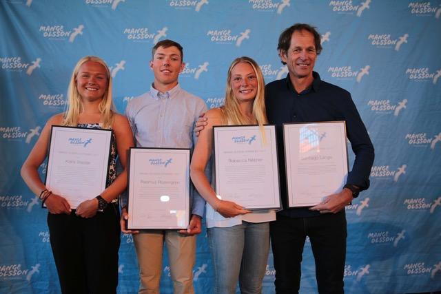 Santiago Lange recibe el Mange Olsson Award