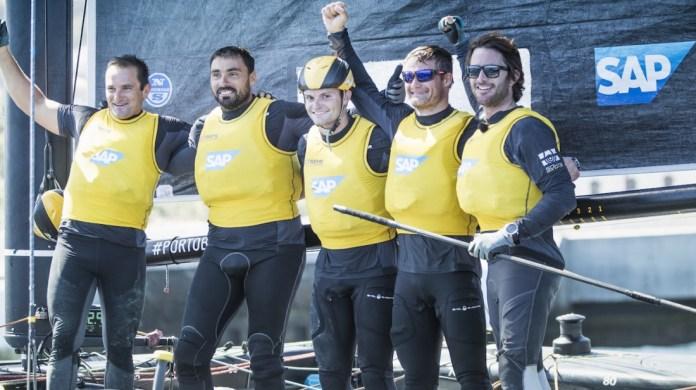 SAP Extreme Sailing Team campeón del Acto 3 Extreme Sailing Series