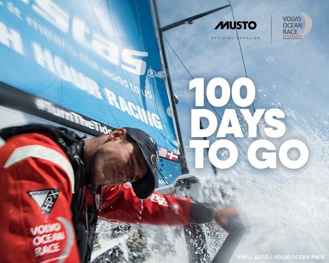 Volvo Ocean Race , a 100 días