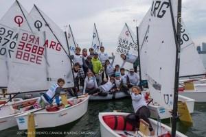 argentina en el Campeonato Norteamericano de Optimist