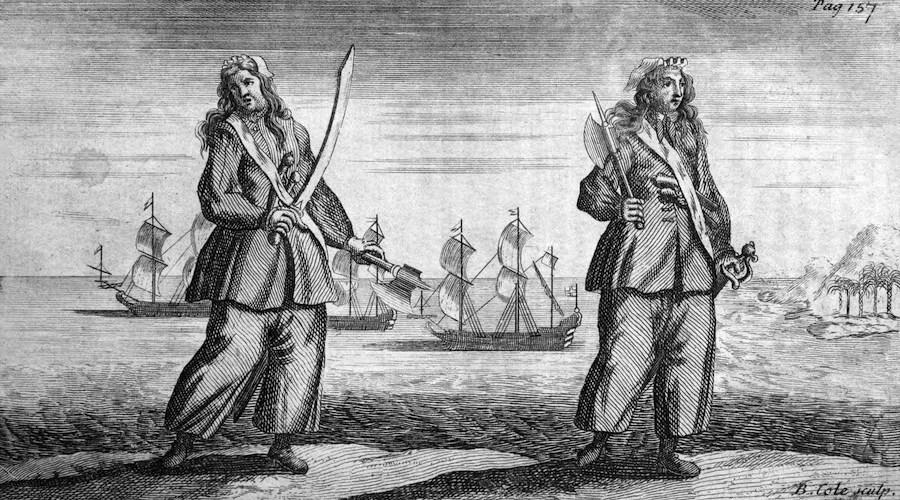 Historia de Mary Read, la pirata en la sombra
