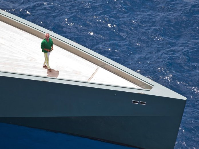 Luca Bassani Antivari revolucionando la industria del yate