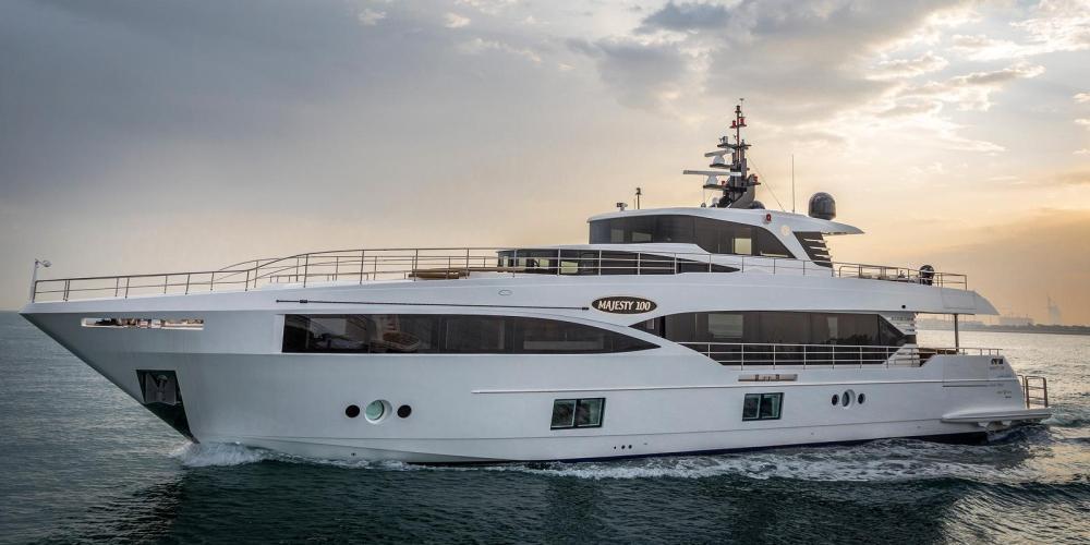 Gulf Craft Majesty 100 yacht