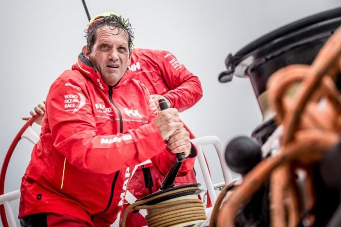 Joan Vila navegante del MAPFRE para la VOR