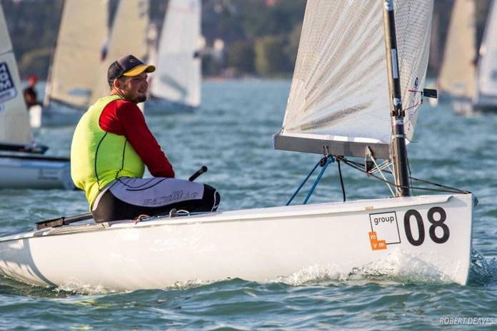 Facundo Olezza, subcampeón mundial de Finn