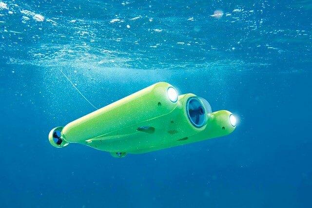 Gladius Ultra HD 4K, el drone subacuático