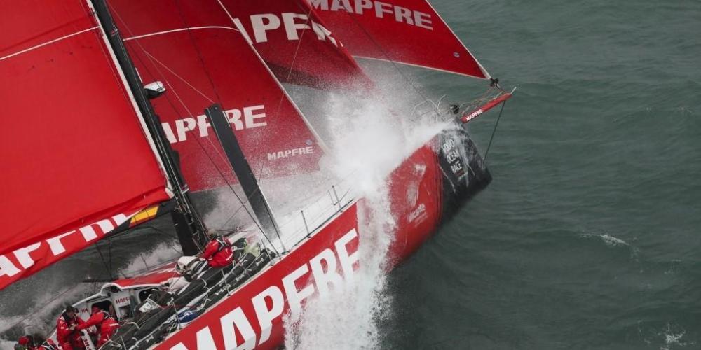 Volvo Ocean Race - Southern Spars Los mástiles VO65 ayudan a reducir récord de carrera