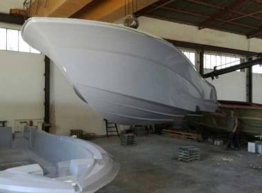 El primer barco fabricado en España con grafeno.