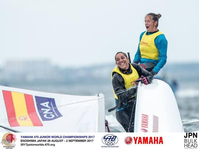 Mundial 470 Juvenil, triunfo español