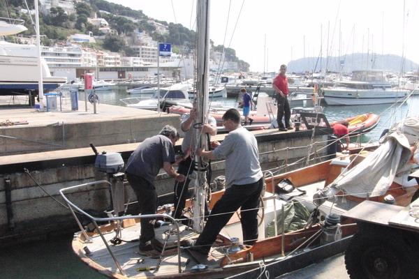 revisión de un velero antes de la compra