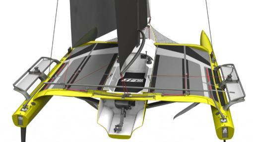 TF10, un trimarán monotipo para volar