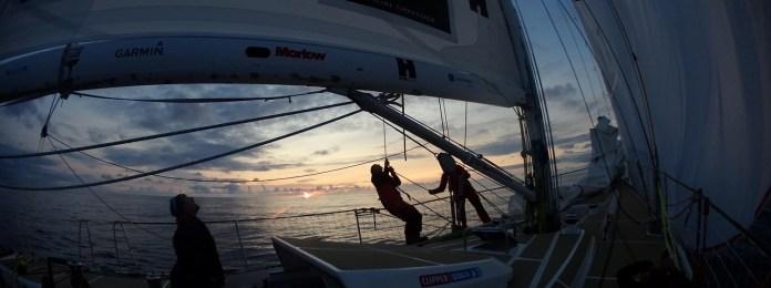 CLIPPER RACE La flota se prepara para los tropicos