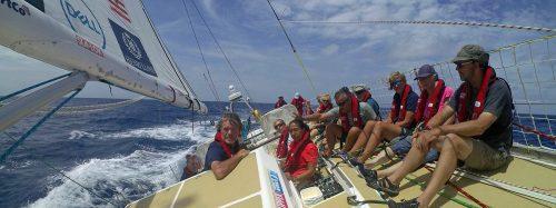 Clipper Race pasa al Hemisferio Sur
