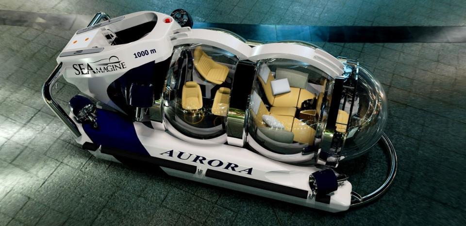 SEAmagine Aurora 6 Submarino personal