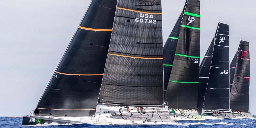 Maxi Yacht Rolex Cup día 4.