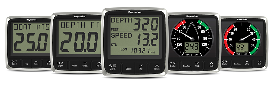 Raymarine i50-and-i60-displays