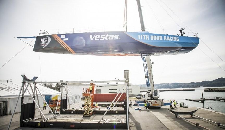 """Alt=""""Volvo Ocean Race- Periodo de Ensamblaje"""""""