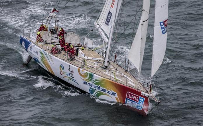 Clipper Race llego a Punta del Este