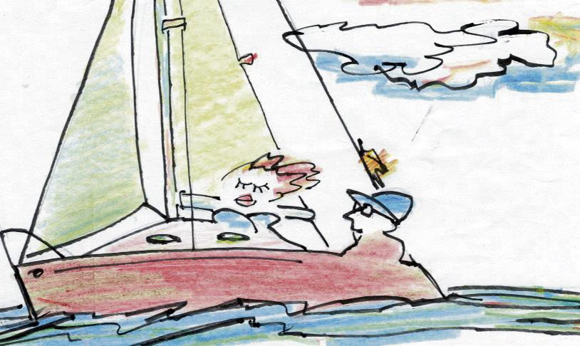 Instrucciones para invitar a una dama a navegar