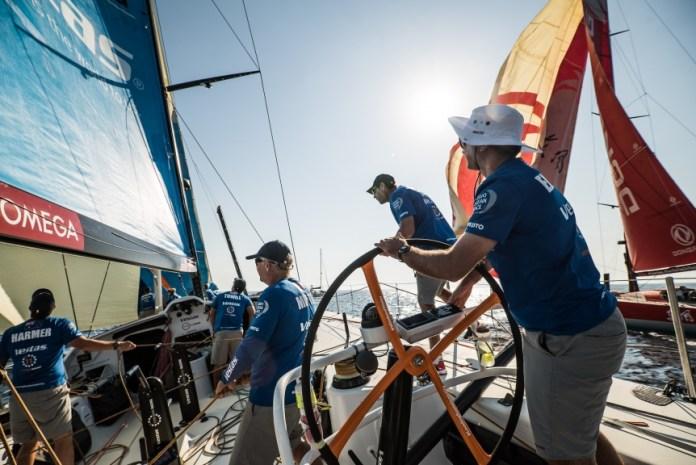 La Volvo Ocean Race se dirige hacia Alicante