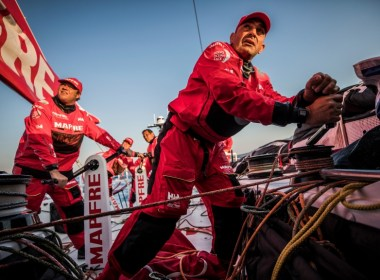 Prologue on-board MAPFRE.