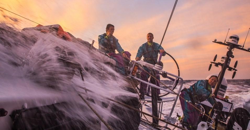 Volvo Ocean Race Volando de empopada