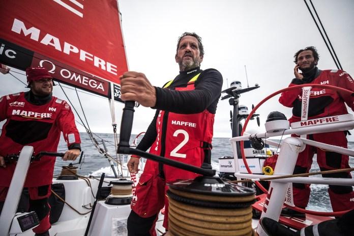 Volvo Ocean Race. El MAPFRE aumenta su ventaja.