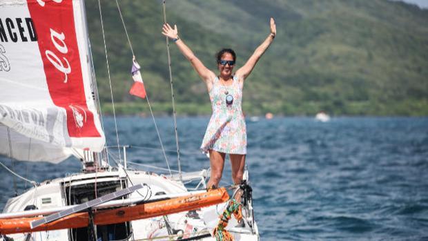 MINI TRANSAT Marta Güemes, la primera española en finalizar