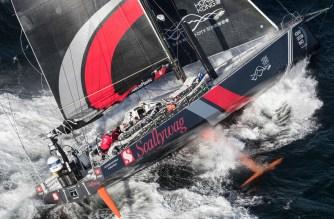 Volvo Ocean Race. La flota se prepara para la gran tormenta