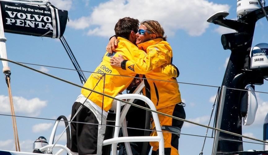 Volvo Ocean Race.Scallywag