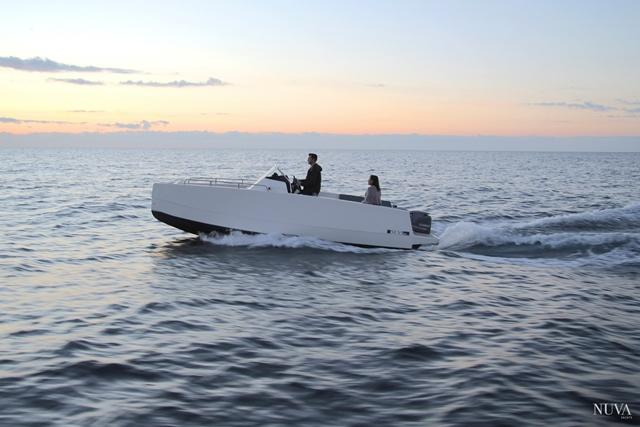 M6, el barco más veloz de Nuva Yachts