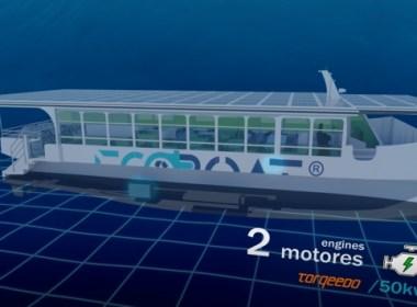 EcoCat, primer catamarán electro-solar