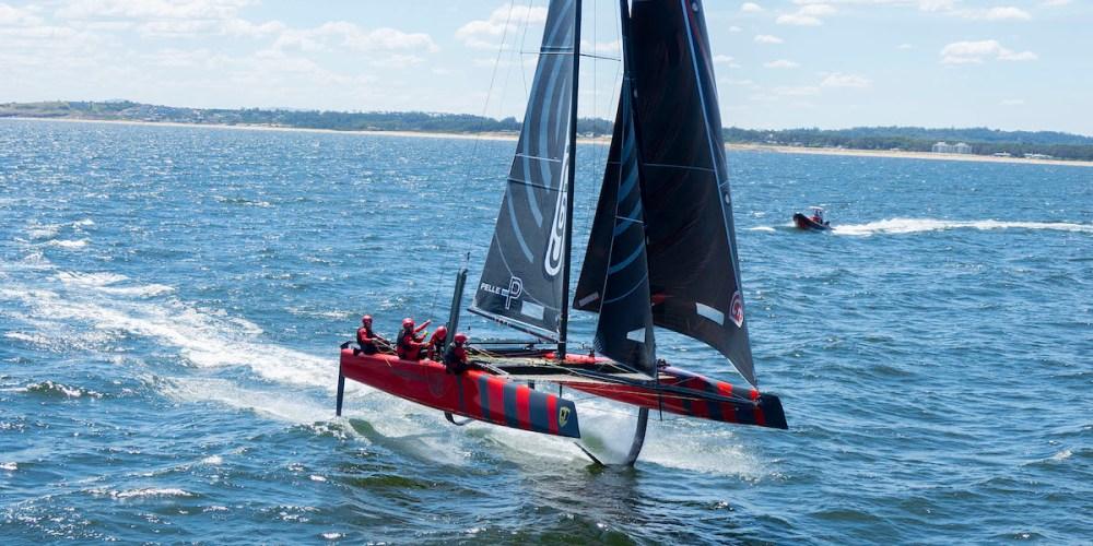GC32 Código Rojo Racing Team ya entrena en Uruguay