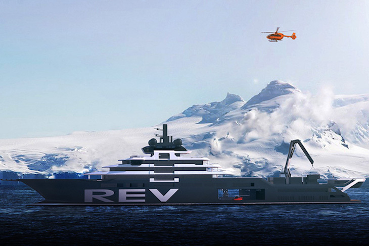 REV (Research Expedition Vessel)