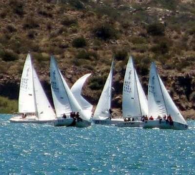 J24. Carrera es el velero más rápido del Oeste