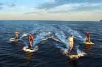Lampuga, tablas de surf eléctricas