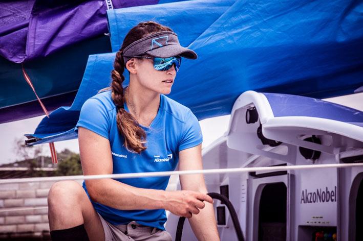Martine Grael, primera brasileña en ganar la Volvo Ocean Race