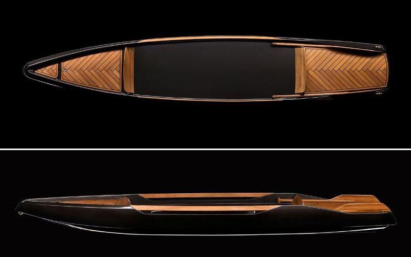 Canoa de diseño minimalista