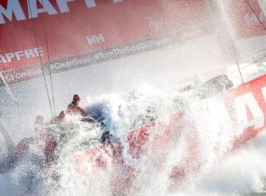 VOLVO OCEAN RACE El «Mapfre» reporta daños