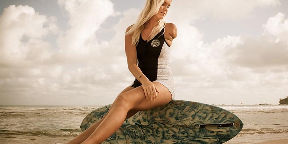 Bethany Hamilton: atacada por un tiburón, se convirtió en surfista profesional