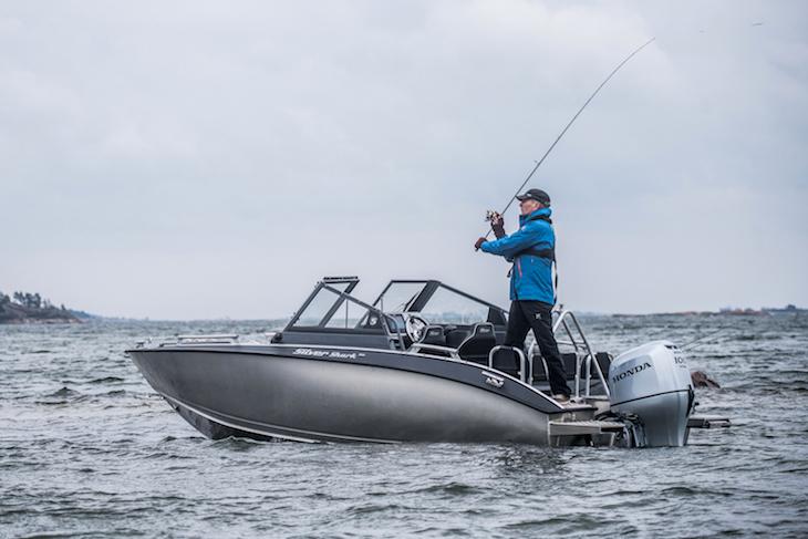 Shark BRX 610, completamente de aluminio para la pesca
