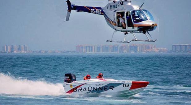 Motonautica. Suspenden una regata en el Mar Menor