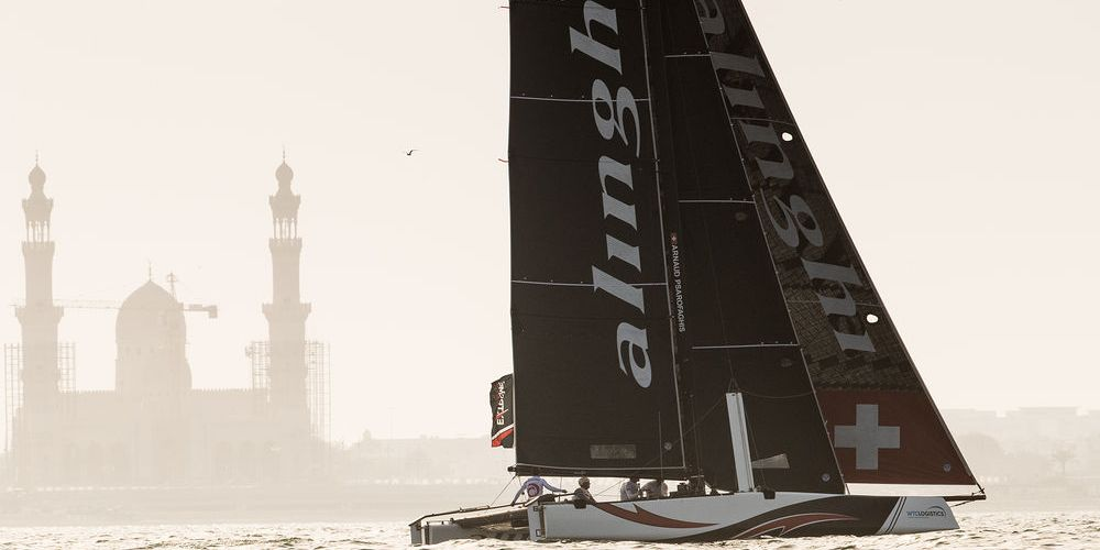 Extreme Sailing Series ™ 2018, Muscat. Alinghi domina