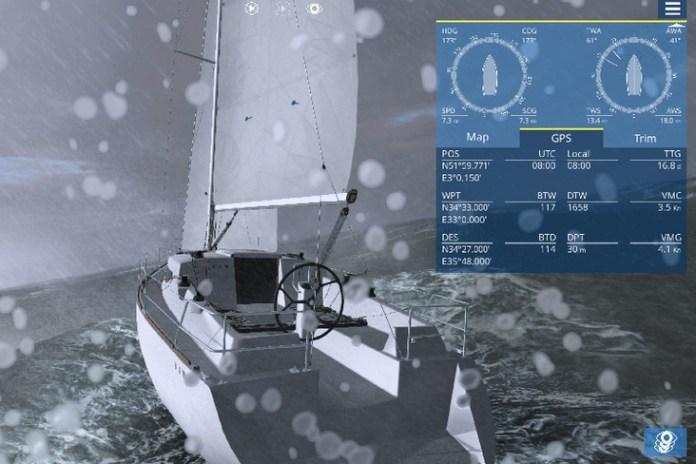 Sailaway. Simulador de navegación