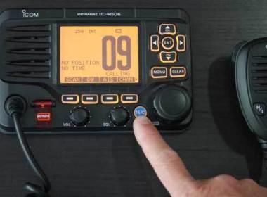 Usar un VHF