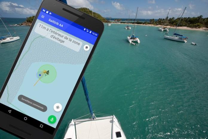 SailGrib AA, la aplicación diseñada para anclar