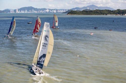 Volvo Ocean Race . In Port Race Itajai para este viernes