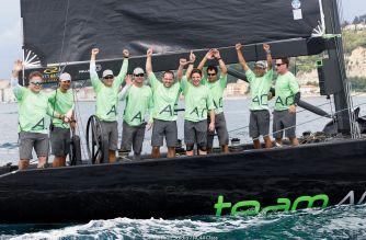 RC44 , victoria para Team Aqua