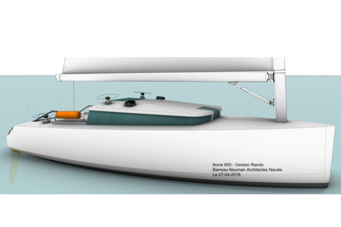 Ikone 6.50, un pequeño velero para crucero familiar