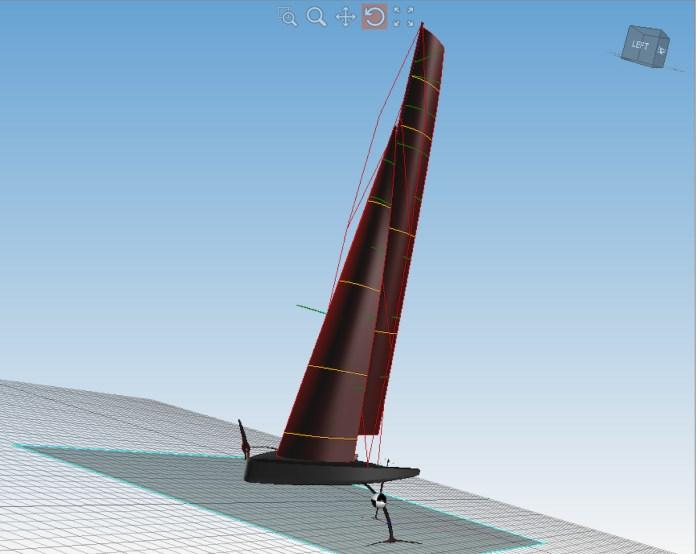 Revolucionaria vela flexible de North Sails